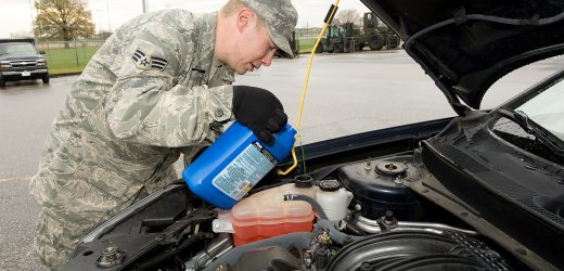 How to remove air from a vehicle's coolant system