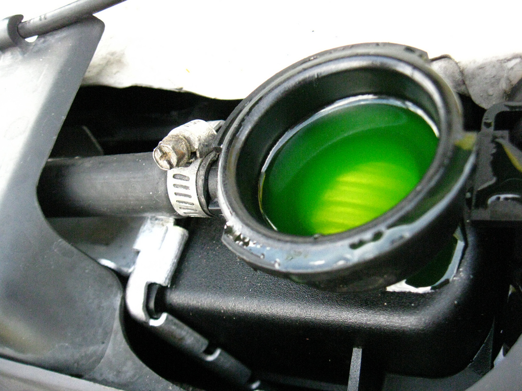 What Should You Do If the Coolant Leaks?