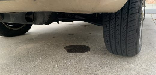 Oil Leak Under the Car, What to Do?